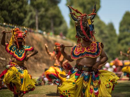 Tshechus or Festivals in Bhutan
