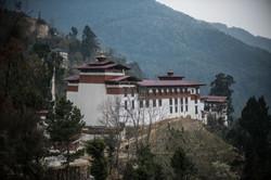 Trongsa Dzong in Central Bhutan