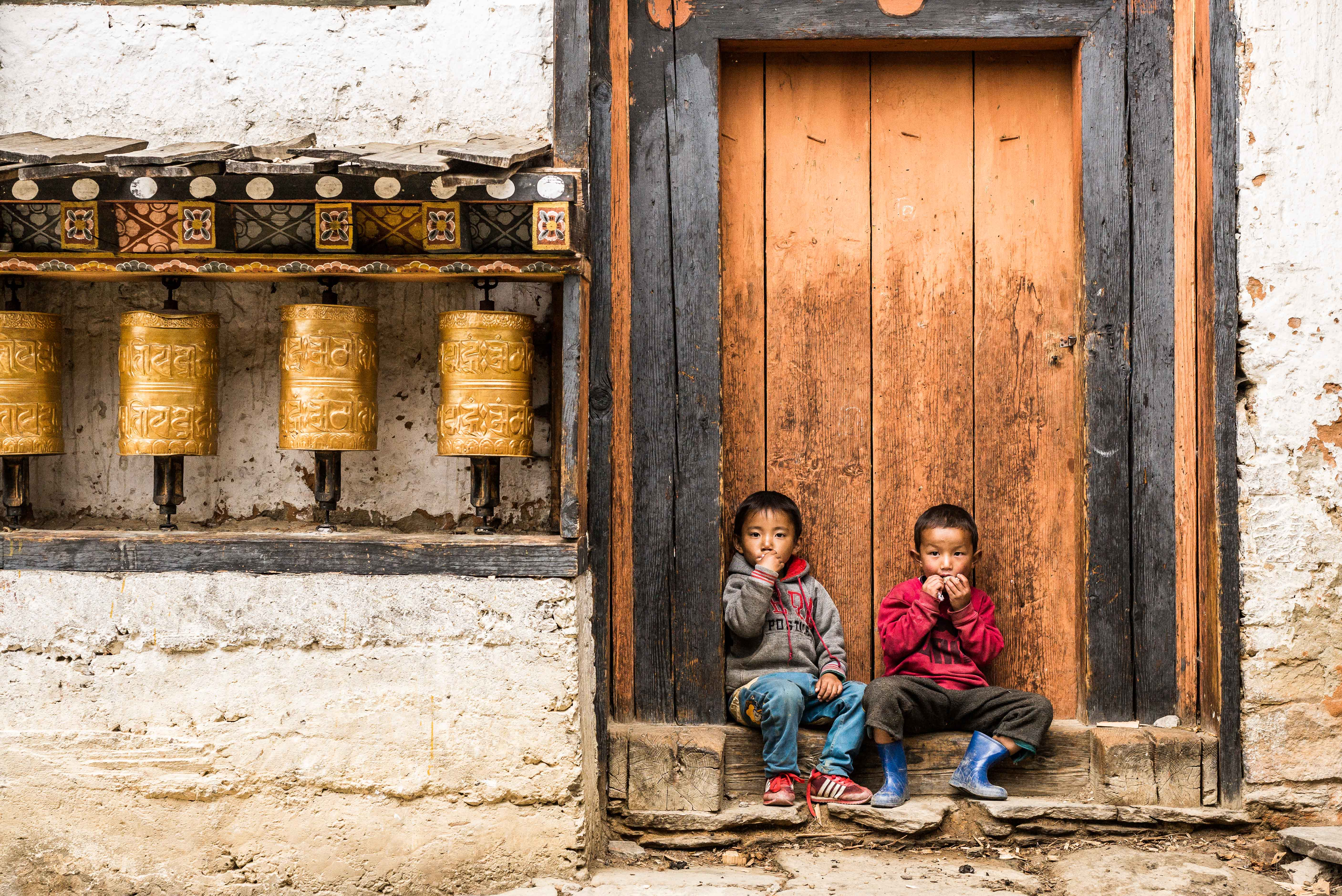 Photography in rural Bhutan