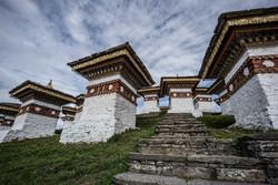 Great sky in Bhutan