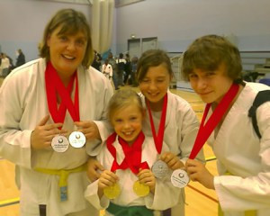 SIX medals for Colchester
