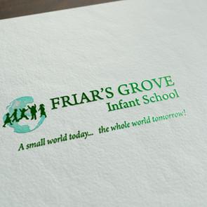 Branding for Friar's Grove School, Colchester UK