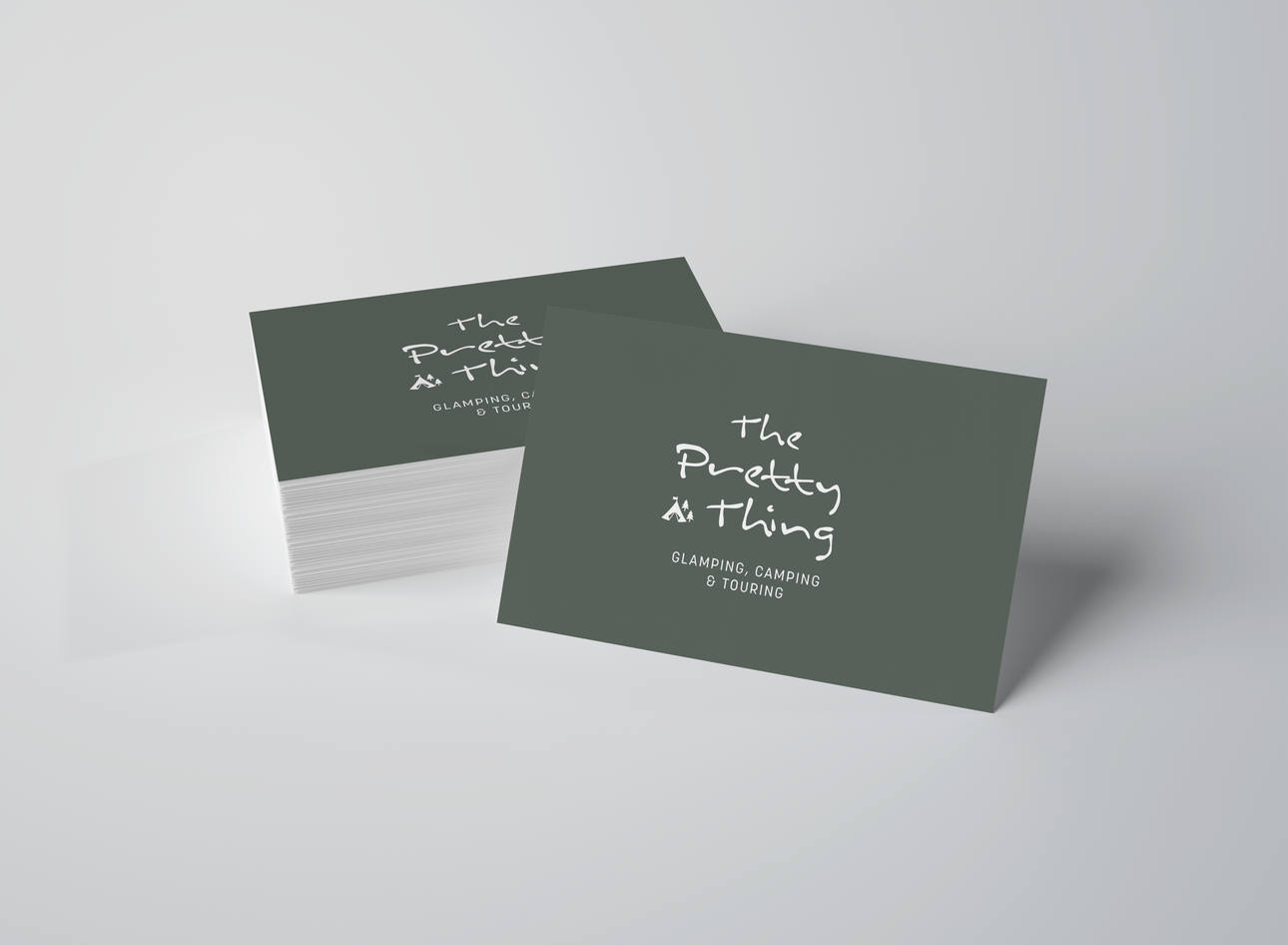 Branding for The Pretty Thing, Campsite, UK