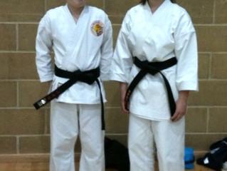 Three New Black Belts!