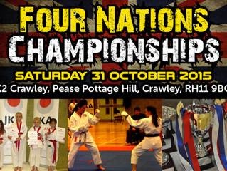 JKA England Four Nations Championships 2015