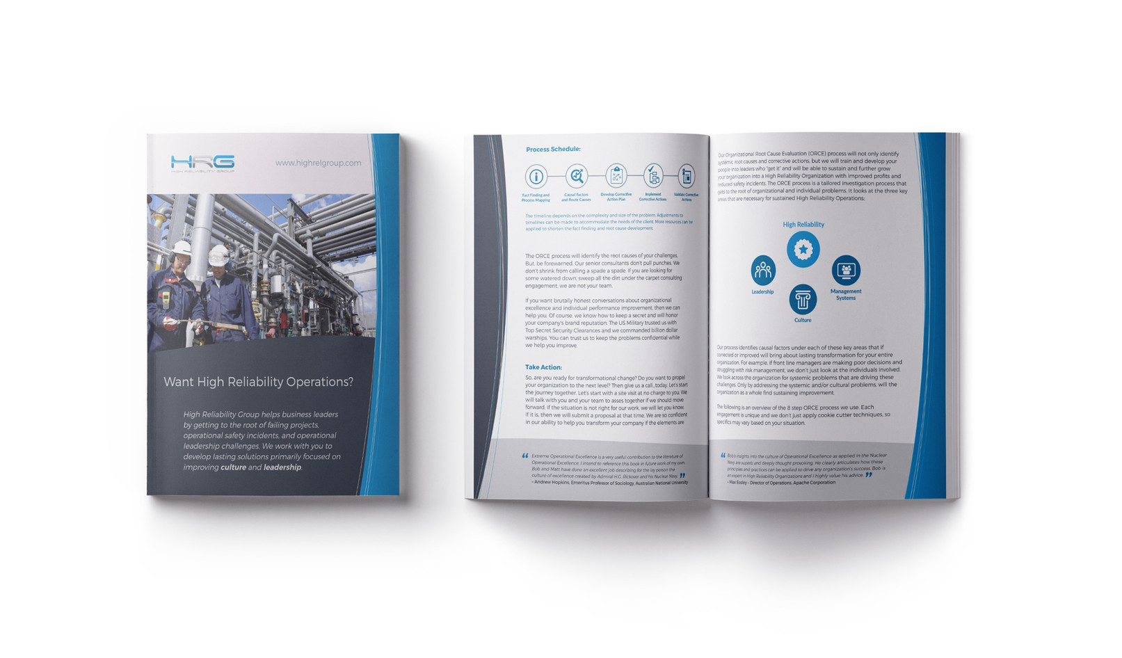 Brochure Design - Illinois, US
