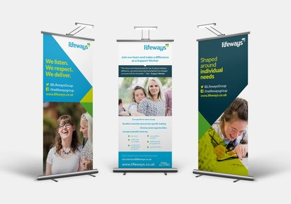 The Lifeways Group Roller Banners