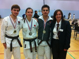 FOUR medals for Colchester