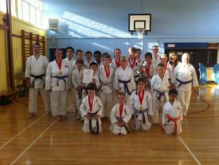 Thirteen medals – JKA England National Championships
