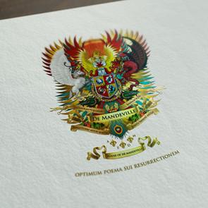 DeMandeville Crest design and artwork