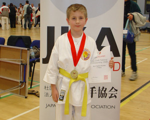 Callum goes for GOLD!!