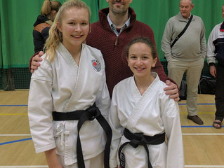 Two new black belts