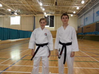Two new black belts!