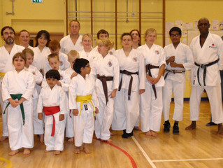 November Club Course and Kyu Grading Results