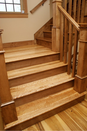 Maple Stair Treads & Risers