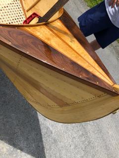 Walnut + Tiger Maple Canoe Bow