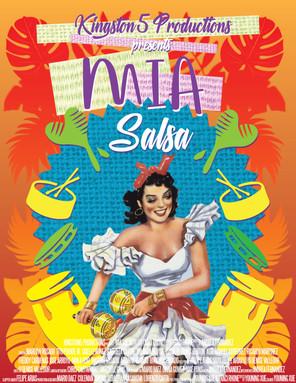 K5 Production Mia Salsa Movie Poster - Photoshop