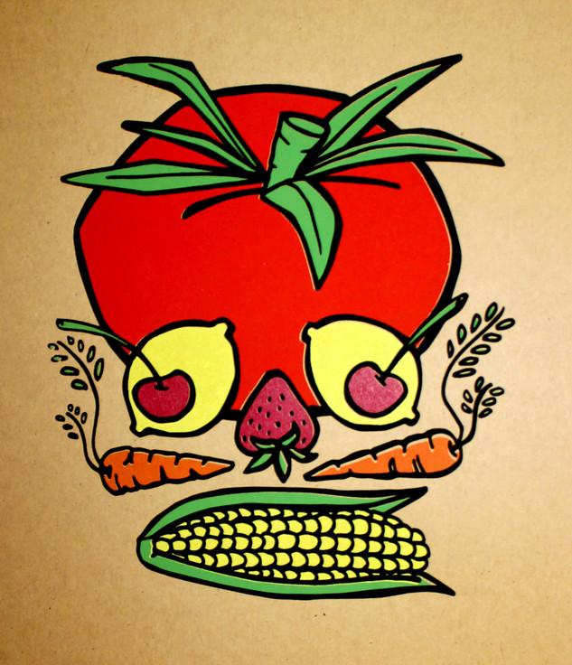 Farmworkers Skull