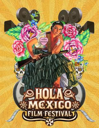 Hola Mexico Film Fest Submission 3 - Photoshop