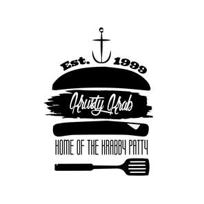 Crusty Crab Logo - Illustrator
