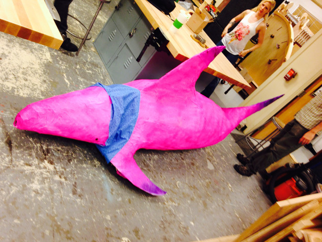 Moving Shark Exterior