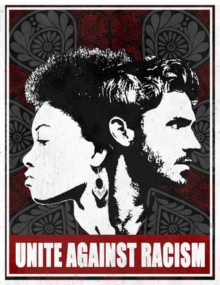 K5 Production Unite Against Racism - Photoshop