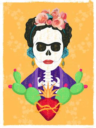 Frida Kahlo Illustration - Illustrator