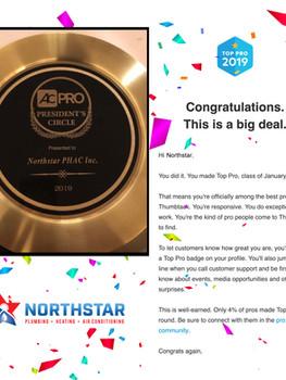 Northstar Pro Award