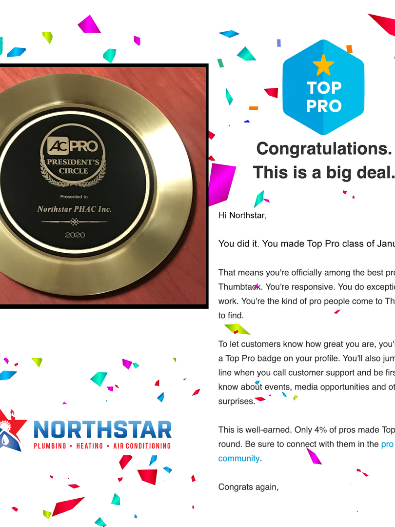 Northstar PHAC Inc Pro Award 2020