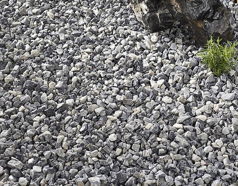 Decorative Grey Chippings 10 - 20 mm