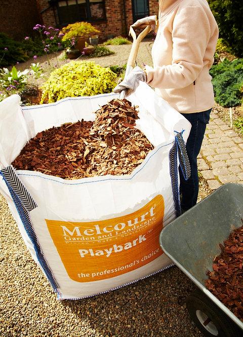 Melcourt - Jumbo Play Bark - Jumbo Bulk Bag 0.6m3