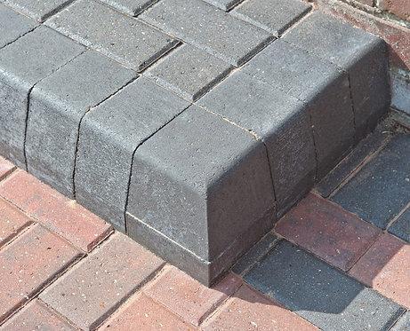 High Corner Kerb Half Batter Charcoal