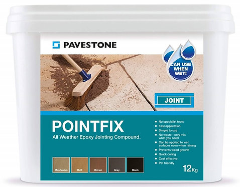 Pointfix Jointing Compound Black 12kg