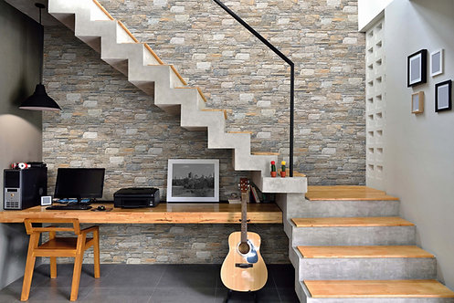 Porcelain Rock Wall Cladding - Box of 15 (0.9sqm approx)