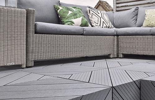 HD Composite Decking Board  XS - Silver