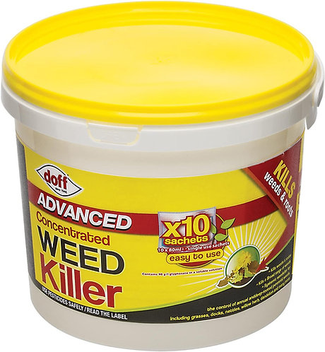 Doff Super Strength Weedkiller Concentrated (10 Sachet)