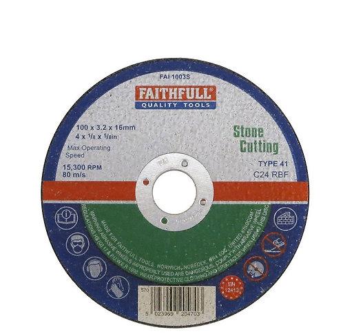 Faithfull Tools Stone Cutting Disc 115mm