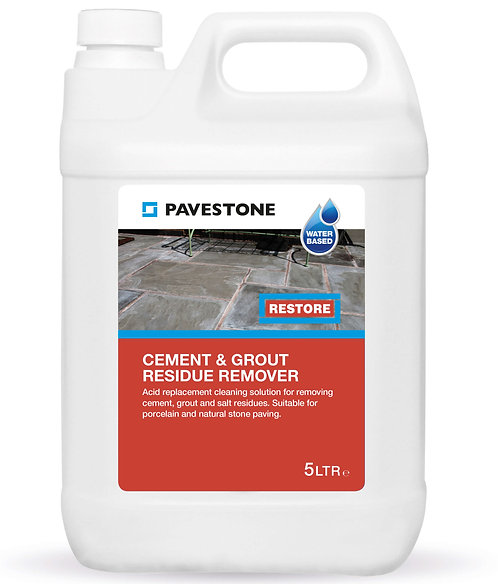 Cement & Grout Residue Remover - 5 litres
