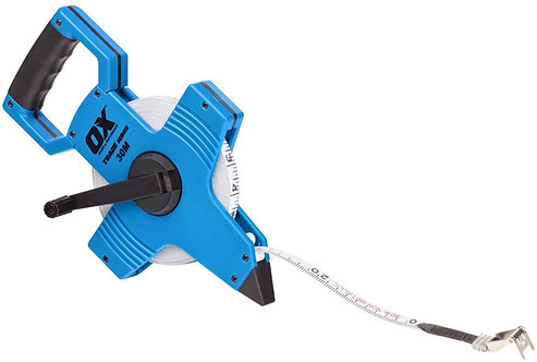 Ox Trade Open Reel Tape Measure 50m (165ft)