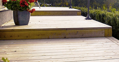 Treated Timber Decking Board Ex. 32mm