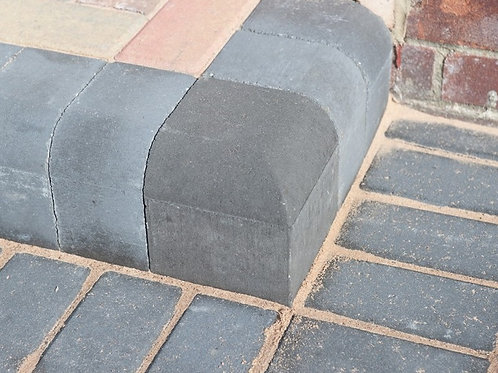 Drivestyle Corner Kerb Charcoal