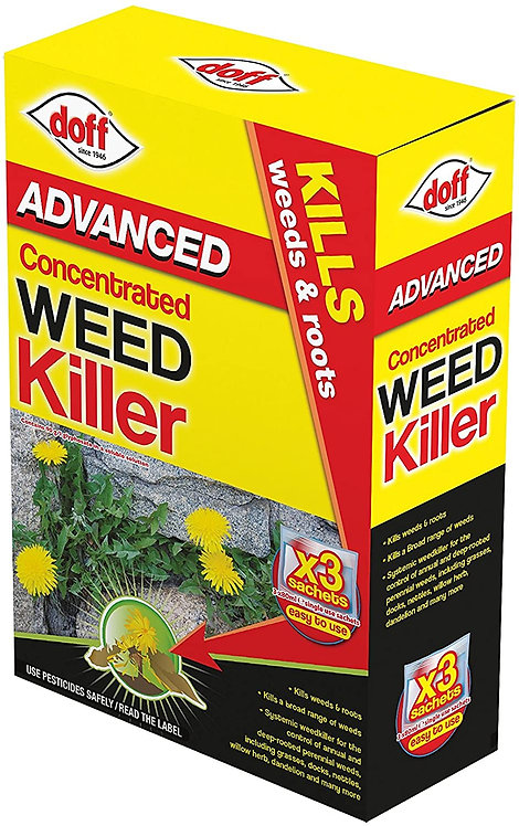 Doff Super Strength Weedkiller Concentrated (3 Sachet)