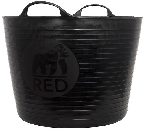 Recycled Black Gorilla Tub Large 38 Litre