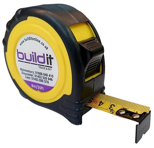 Buildit 8m Quality Tape Measure