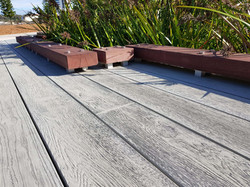 Composite Decking - Smoked Oak