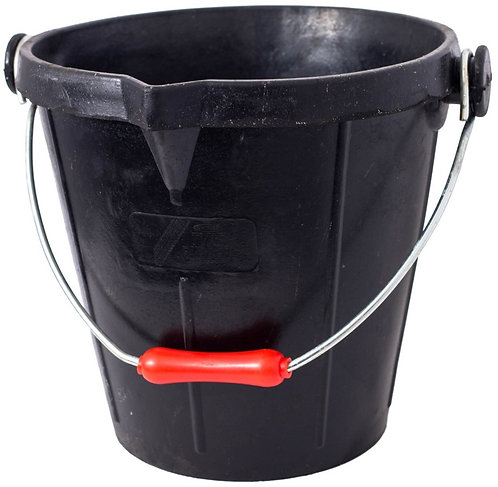 Recycled Tyre Rubber Bucket 14 Litre