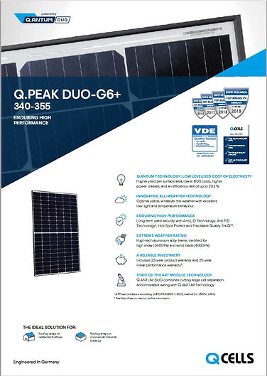 350 Q CELL BROCHURE GEELONG SOLAR ENERGY