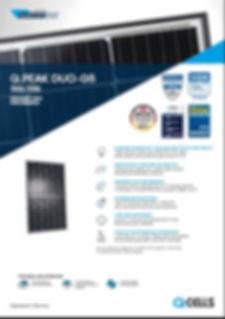 Geelong Solar Energy QCELLS DATA SHEET .JPG