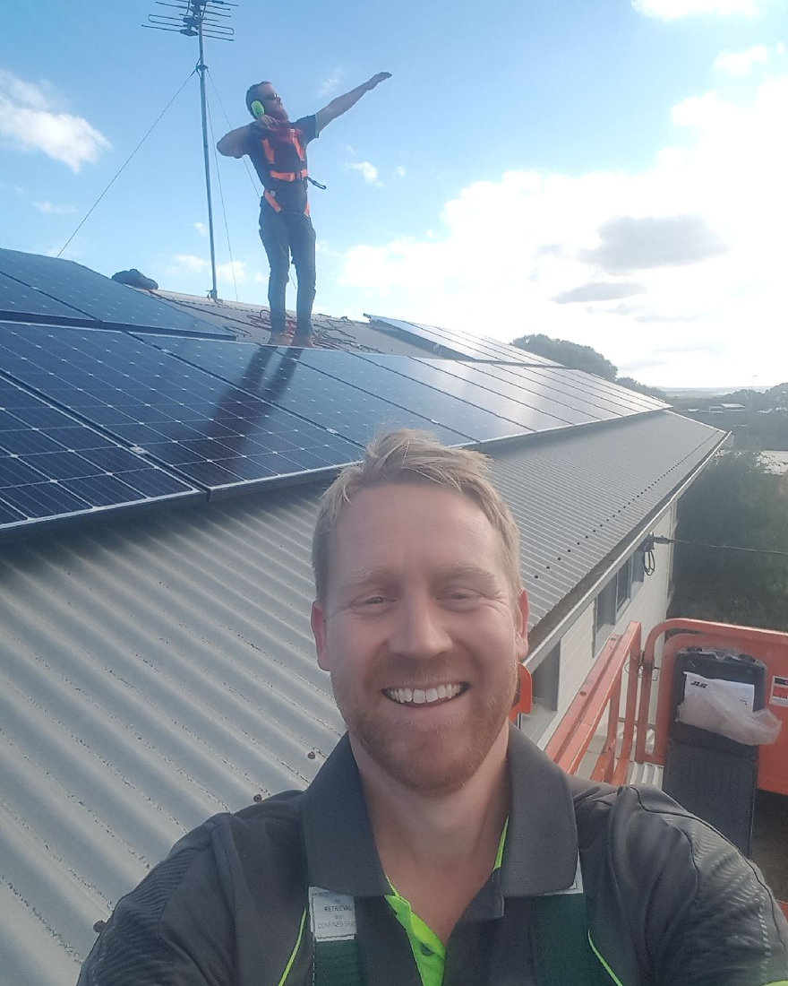 Australia's number one solar install team