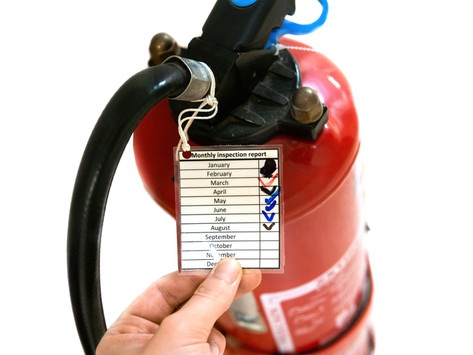 Are your fire extinguishers up to date?
